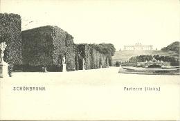 Wien - Schonbrunn - Parterre - Château De Schönbrunn