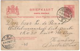 OLANDA - NEDERLAND - Paesi Bassi - 1906 - 5 Cent - Briefkaart - Carte Postale - Postal Card - Intero Postale - Entier... - Interi Postali