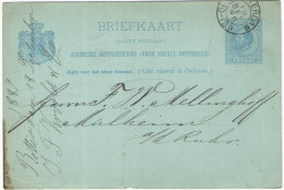 OLANDA - NEDERLAND - Paesi Bassi - 1889 - 5 Cent - Briefkaart - Carte Postale - Postal Card - Intero Postale - Entier... - Postal Stationery
