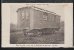 C.P.A. D UN FABRIQUANT DE CARAVANE A PANISSIERES 42 - Autres Communes