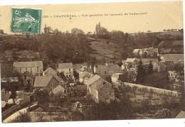 95 AUVERS --  CHAPONVAL  VUE  GENERALE  DU  HAMEAU   DE  VALHERMEIL - Auvers Sur Oise