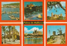 España--Mallorca--1992--Palma De Mallorca--Detalle De La Ciudad----a, Lille, Francia - Molinos De Viento