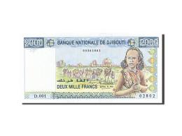 Djibouti, 2000 Francs, Type 2002 - Djibouti