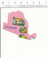 Pièce De Puzzle / Motif Animal Lynx Roumanie   / B-51/D1 - Vieux Papiers