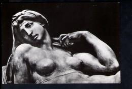 N1535 SCULTURA, STATUA DELL´AURORA DI MICHELANGELO - FIRENZE, CAPPELLE MEDICEE  - VERA FOTOGRAFIA NOVA LUX - Sculptures