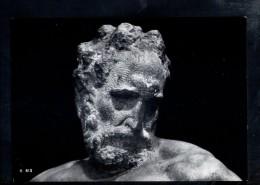 N1536 SCULTURA, STATUA DEL CREPUSCOLO DI MICHELANGELO - FIRENZE, CAPPELLE MEDICEE  - VERA FOTOGRAFIA - ARTE, SCULPTURE - Sculptures