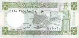 Syria - Pick 100d - 5 Pounds 1988 - Unc - Syrie