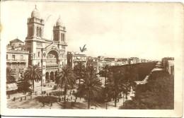 Tunis - Avenue Jules Ferry Et La Cathedrale - Tunisie
