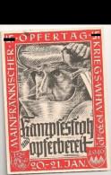 1654 - Propagandakarte Opfertag Kriegs WHW + Sst - Deutschland