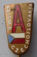 ARITMA CZECHOSLOVAKIA PIN BADGE P1 - Pin