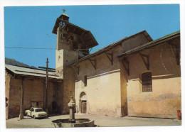 CEILLAC--Eglise Saint Sébastien(XVI°s)--fontaine,voiture-- ,cpsm 15 X 10 N°5865  éd MAR--pas Très Courante - Autres Communes