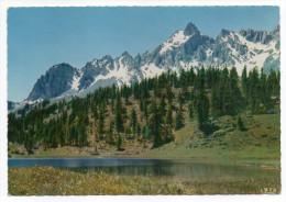 CEILLAC--1966--Le Lac Miroir Et Le Massif De La Fontsancte,cpsm 15 X 10 Dentelée  N°2599  éd CAP-cachet Guillestre-05 - Autres Communes