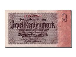 Allemagne, 2 Rentenmark Type 1937 - [ 3] 1918-1933 : République De Weimar