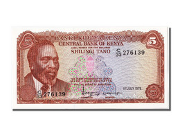 Kenya, 5 Shillings Type Mzee Jomo Kenyatta - Kenya