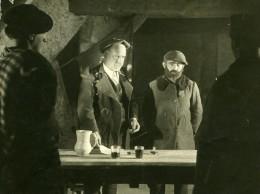 Espagne Film Acteur Romancier Pio Baroja Dans Zalacain L'Aventurier Cinema Ancienne Photo 1930 - Célébrités
