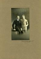 France Film Acteurs Non Identifies Cinema Ancienne Photo Delaunay 1935 - Famous People