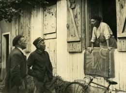 France Garancieres Criminologie Mme Roboux & M Audrain Ancienne Photo 1948