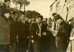France Corbiere Criminologie Assassinat Des Epoux Baudron Reconstitution Ancienne Photo 1949 - Unclassified