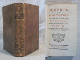 Œuvres De M. De Voltaire / 2è édition De 1757 / Tome VII - Bücher, Zeitschriften, Comics