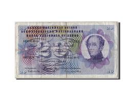 Suisse, 20 Franken, 1973, KM:46u, 1973-03-07, TB - Suiza