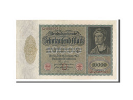 Allemagne, 10,000 Mark, 1922, KM:70, 1922-01-19, TTB+ - [ 3] 1918-1933: Weimarrepubliek