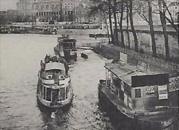 CPA 75 PARIS Hôtel De Ville Vues Stéréoscopiques Julien Damoy ( Péniche - Stereoscope Cards