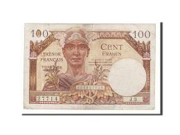 France, 100 Francs, 1947, KM:M9, Undated, TTB, Fayette:VF32.1 - Treasury