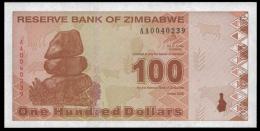 Zimbabwe 100 Dollars 2009 P 97 UNC - Zimbabwe