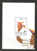 724 * ANTIGUA BLOCK * JAHR DES KINDES * 1979 * UNGEBRAUCHT ** !! - Antigua Und Barbuda (1981-...)
