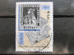 ITALIA USATI 2001 - 150° FRANCOBOLLI DI TOSCANA  - RIF. G 1813 LUSSO - 6. 1946-.. Repubblica