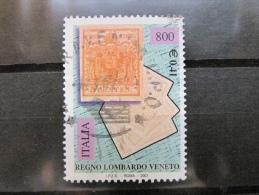 ITALIA USATI 2001 - 150° FRANCOBOLLI DEL LOMBARDO VENETO  - RIF. G 1816 LUSSO - 6. 1946-.. Repubblica
