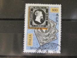 ITALIA USATI 2001 - 150° FRANCOBOLLI DI SARDEGNA  - RIF. G 1818 LUSSO - 6. 1946-.. Repubblica