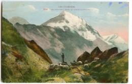 Les PYRÉNÉES En 1939 - Un Troupeau Dans Le Haute Montagne - Carte Colorisée - écrite Timbre Enlevé - 2 Scans - Non Classés
