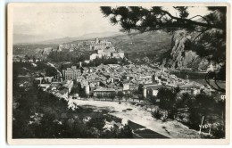 SISTERON En 1952 (Basses-Alpes) - Vue Générale - écrite Timbre Enlevé - 2 Scans - Sisteron