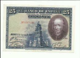 25 PESETAS 1928 - 1-2-5-25 Pesetas