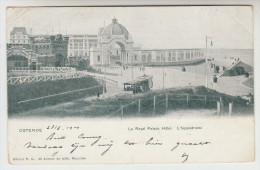 Oostende, Ostende, L´Hippodrome, Le Royal Palace Hotel, Tram, Tramway (pk26278) - Oostende