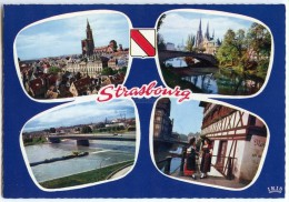 L´Alsace Pittoresque - Souvenir De STRASBOURG - Dentelée Non écrite - 2 Scans - Strasbourg