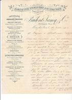 39.- MOREZ -DU-JURA .- PRUDENT-LAMY &Co .- Manufacture D' Horlogerie  & De Lunetterie - Petits Métiers