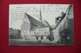 Cpa.r - Gallardon (28) - Place De L'église - Café Du Commerce - Magasin Chaussures - éditions Laussedat - Autres Communes