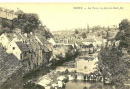 Semur. Les Vaux,vue Prise Du Mont Joly. - Semur