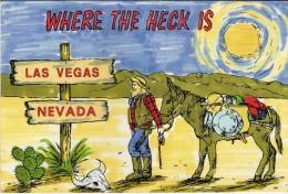 Las Vegas Nevada,UNUSED POSTCARD - Greetings From...
