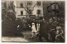 - AVIGNON - Fêtes De La Mi-Carême, 1921, La Reine Des Reines, écharpe De La Ville, Peu Courante,  TBE, Scans. - Avignon