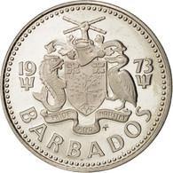 Barbados, 25 Cents, 1973, KM:13 - Barbades