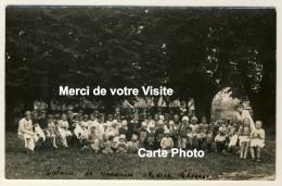 Eslettes  - Carte Photo - Colonie De Vacances Marie-Thérèse - Les Petits Colos......date Verso 1928 - 2 Scans - Altri Comuni