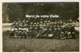 Eslettes  - Carte Photo - Colonie De Vacances Marie-Thérèse - Petits Colos Avec Tambour ...... Date Verso 1927 - 2 Scans - Altri Comuni