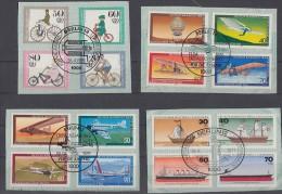 Berlin Lot 2 Zuschlagmarken 4 Sätze Gestempelt Ansehen !!!!!!!!!!!! - Briefmarken