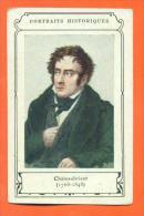Chromo Portraits Historiques - Chateaubriant ( 1768-1848 ) - Histoire