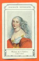 Chromo Portraits Historiques - Madame De La Sablière ( 1630-1693 ) - Storia