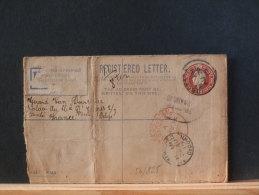 56/825   REGISTRED LETTER TO BELGIAN SOLDIER 1915 - Cartas
