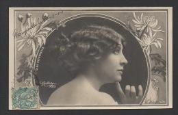 DF / CELEBRITÉS / ARTISTES / OLGA NETHERSOLE / ACTRICE ET PRODUCTRICE DE THÉÂTRE / PHOTO REUTLINGER / CIRCULÉE EN 1904 - Artistes